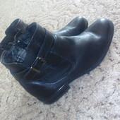 Кожаные ботинки-челси в отличном состоянии .
