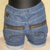 Шорты джинс стильные lois geans наш 42-44 р.