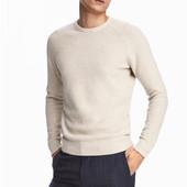 Джемпер из хлопка премиум, H&M, XL
