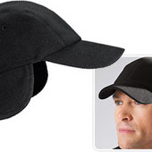 Демисезонная теплая флисовая кепка с ушама Тсм Tchibo Чибо Германия