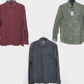 стильная мужская рубашка Французских брендов Benson&Cherry и Promod