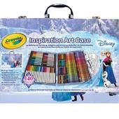 Набор от Crayola на 140 предметов: крайоны, карандаши, маркеры, бумага