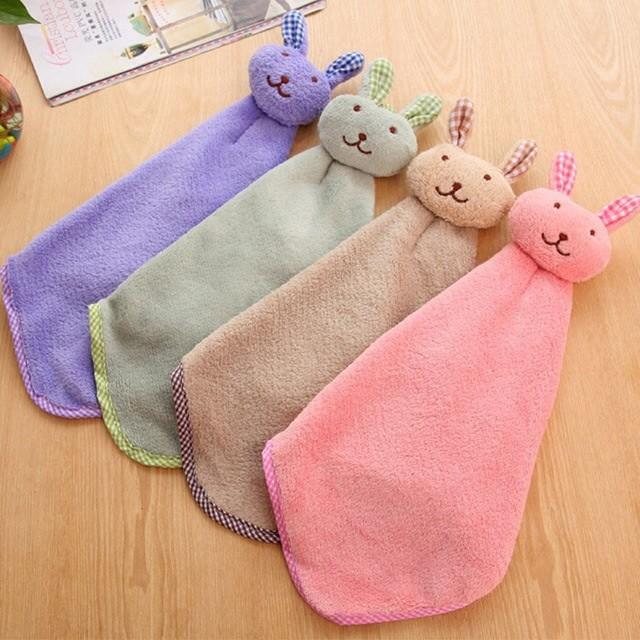 Детское полотенце зайчик. фото №1