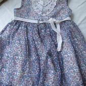 Платье, сарафан для девочки на 2-3-4 года