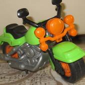Мотоцикл пластиковый
