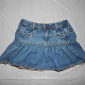 6-7 лет, р. 122-128, модная джинсовая юбка ТСМ