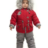 Зимний полукомбинезон на меху для девочки 86 см. Последний рост, скидка!