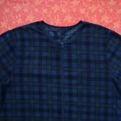 размер S-М, Флисовый взрослый человечек-пижама, F&F, б/у.