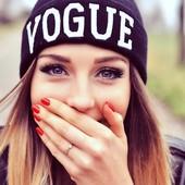 13-2 Стильная шапка Vogue/ Модная шапка/ мега-крутая шапка