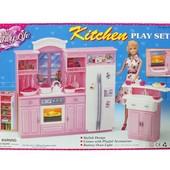Мебель для барби кухня Gloria 24016  В коробке 43*7*29см
