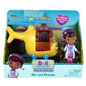 Disney Junior Doc McStuffins доктор плюшева на спасательном вертолете