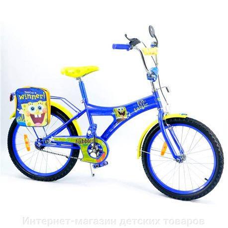 Велосипед 2-х колес 20'' 152030 (1шт) со звонком, зеркалом, руч.тормоз фото №1