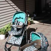 Детская коляска универсальная 2 в 1 Geoby D613R