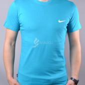 Футболка мужская хлопковая Nike Найк бирюза
