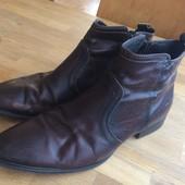 Мужские кожаные туфли ботинки 44р