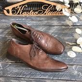 Кожаные туфли-броги Kurt Geiger р-р 44