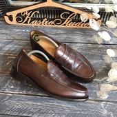 Кожаные туфли-лоферы Samuel Windsor р-р 42