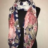 Женский шарф осень зима красивый