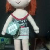 Мягкая кукла Танюша