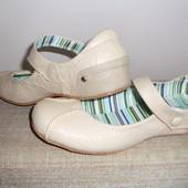 Супер легенькие туфельки-балетки Беж