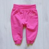 Яркие трикотажные штаники для новорожденной. Tutta. Размер 0-3 месяца. Состояние: новой вещи
