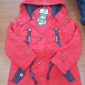 Куртка для мальчиков на флисовой подкладке Grace 98 рр.