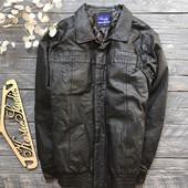 Натуральная кожаная куртка р-р XЛ
