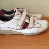кроссовки для работы фирменные Prada р.44