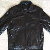 Кожаная куртка Lozano 50-52размер состояние Новой