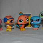 Пет шопы pet shop игрушки зоомагазин Littlest pet shop LPS  с магнитом и без