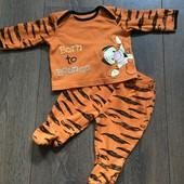 Костюмчик (ползунки и футболка) на новорожденного George (Disney) (0-3 мес)