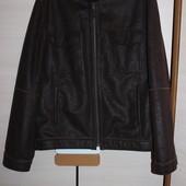 стильная куртка дубленка zara размер Л