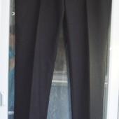 """Брюки """"Jeff Banks"""" мужские, крупному подростку р.176-180 (р.36L 36/33) штаны черные"""