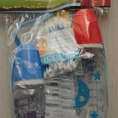 Набор бутылочек (2бутылочки,ершик,слюнявчик,ухочистки)