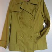 Фирменный яркий плащ пиджак! Модно этой осенью!