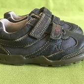 Туфли кожаные Clarks uk5.5F, р.21, ст.13.5см.