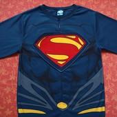 Флисовый человечек-пижама-костюм на 16 лет Человек из стали, Man of Steel, Bhs, б/у. Отличное состоя