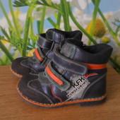 Демисезонные ботинки на мальчика,размер 26