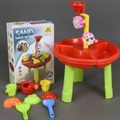 Столик игровой для песка и воды в коробке