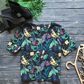 Стильная блуза джунгли Next р-р Хл