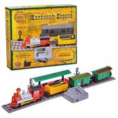 Детская игровая железная дорога «Мой поезд» 0625, работает от сети