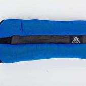 Утяжелители манжеты для рук и ног 1102-2: вес 2x1кг