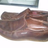 мужские туфли Kickers р. 46 , стелька 30 см Кожа