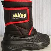 Зимние дутыши, детские, тёплые, лёгкие сапоги сноубутсы для комфортной ходьбы и тёплых ног