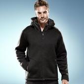 Флисовая  куртка толстая внутри мех с пропиткой  ecorepel Tchibo L