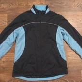 классная вело термо-куртка кофта ветровка, р.46-48