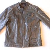 Муж.кожаная куртка Gin Tonic p.XL