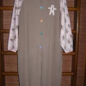 Пижама флисовая, размер М, рост до 170 см