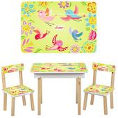 Детский столик Vivast (503-2) салатовый