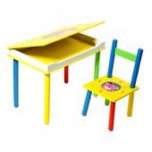 Стол с ящиком со стулом Мишка (2803-705)